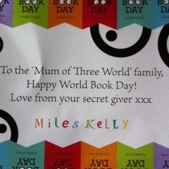 World Book Day secret giver