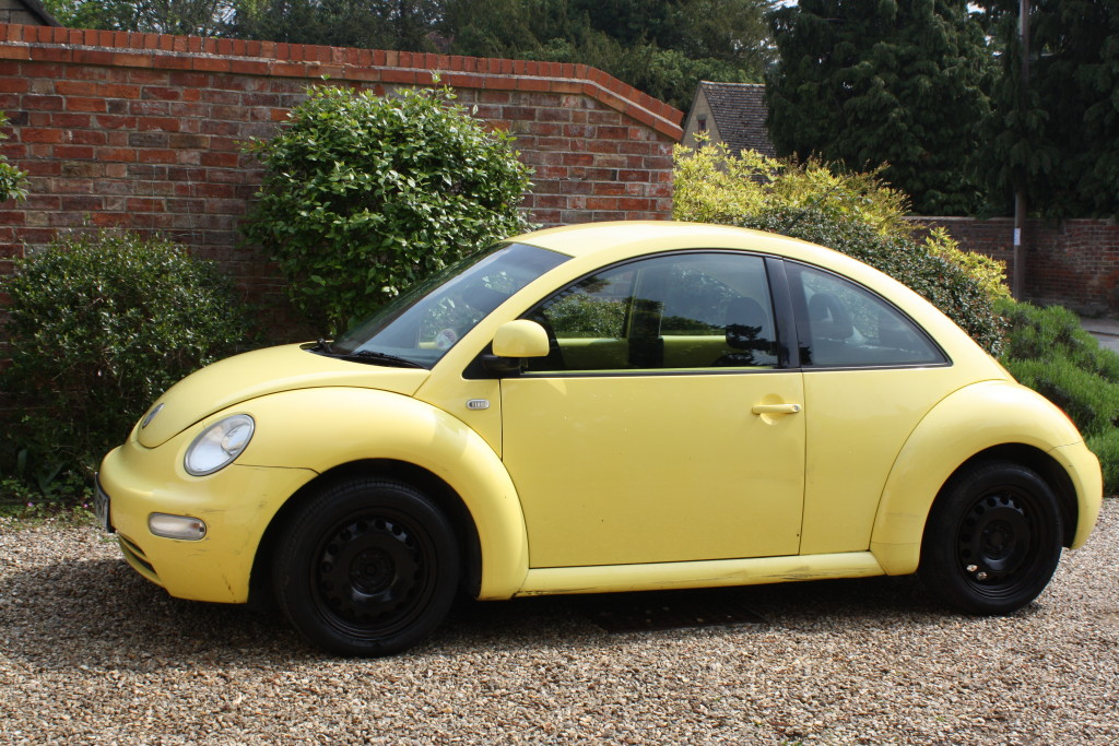 Beetle, Yellow, The Gallery, Car