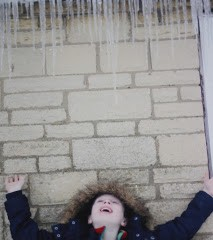 Saturday is icicle caption day!