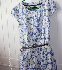 What she wore – M&S playsuit adapted for spring