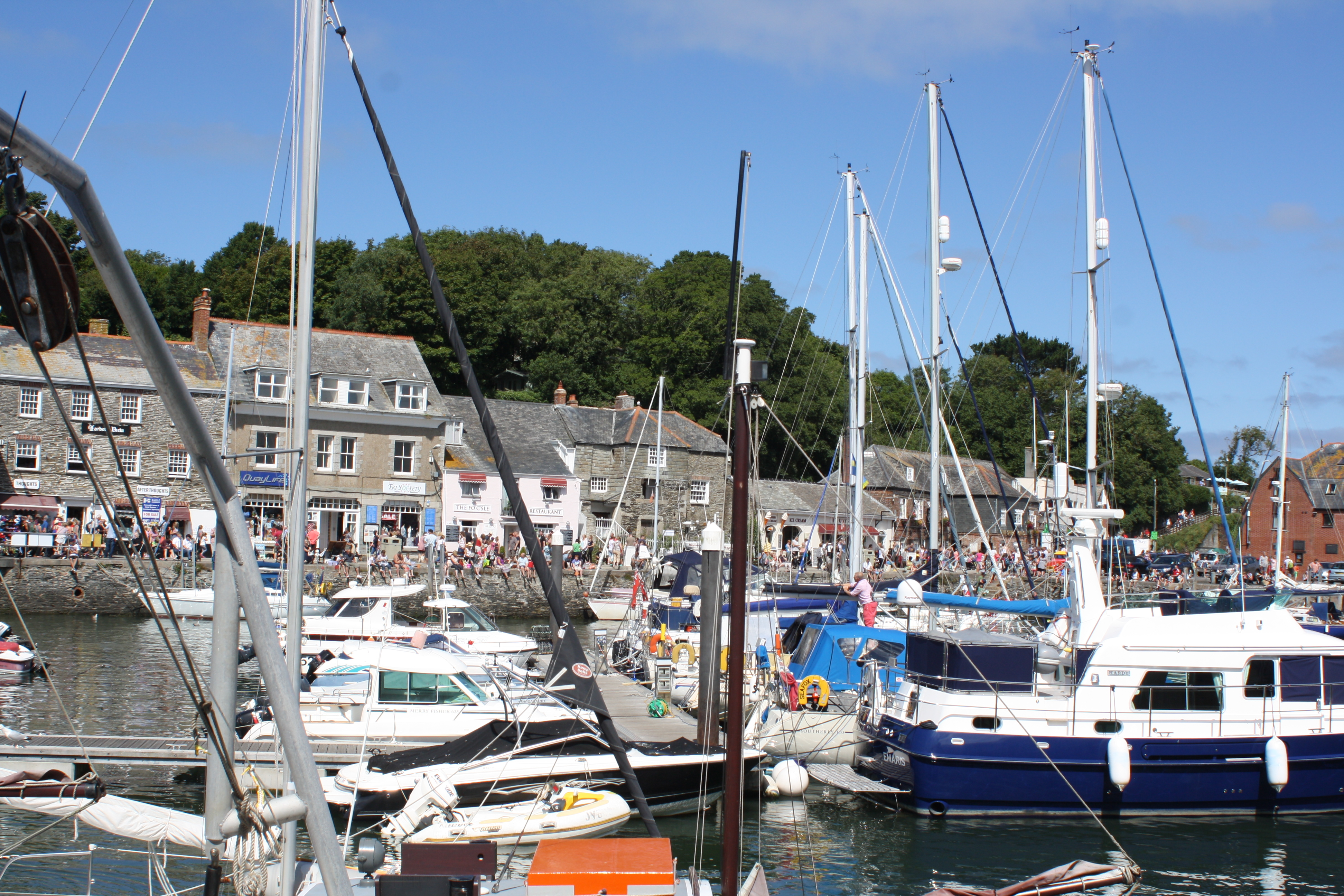 Favourite place, The Gallery, Padstow, boats