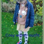 What she wore: Cosy winter outfit