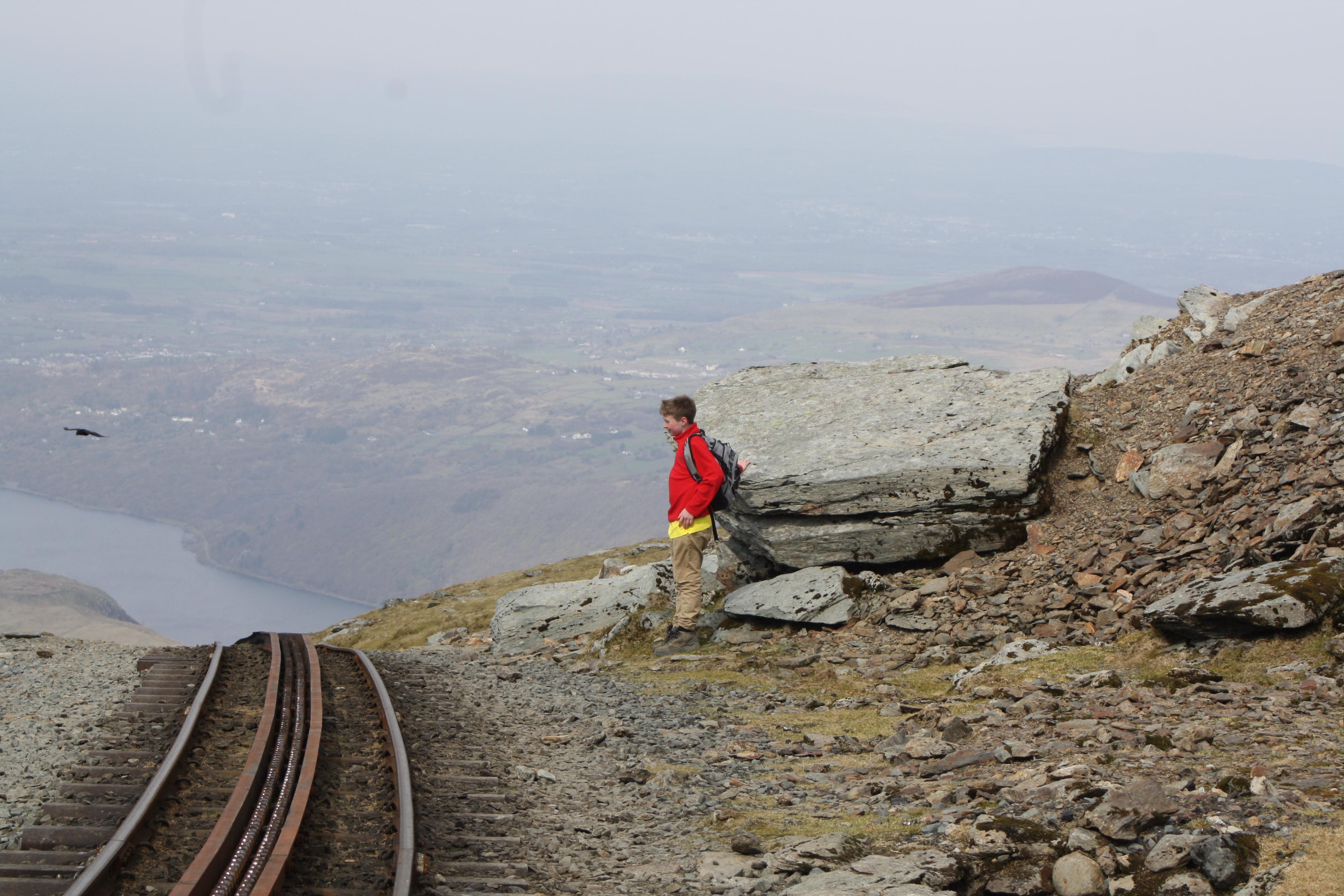 Silent Sunday, Snowdon, Son, My Sunday Photo