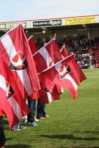 Football, flags, kids, 365