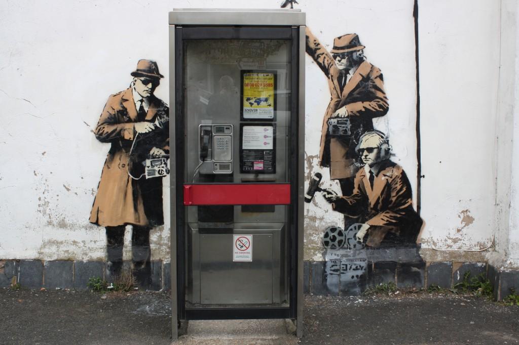 Banksy, Cheltenham. 365