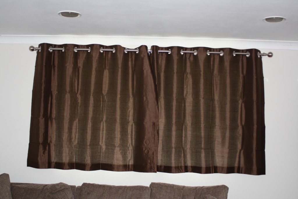 Curtains, new house, 365