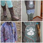 What she wore: A walk in the forest