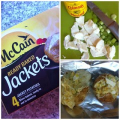 Double Cheese Ready Baked Jackets