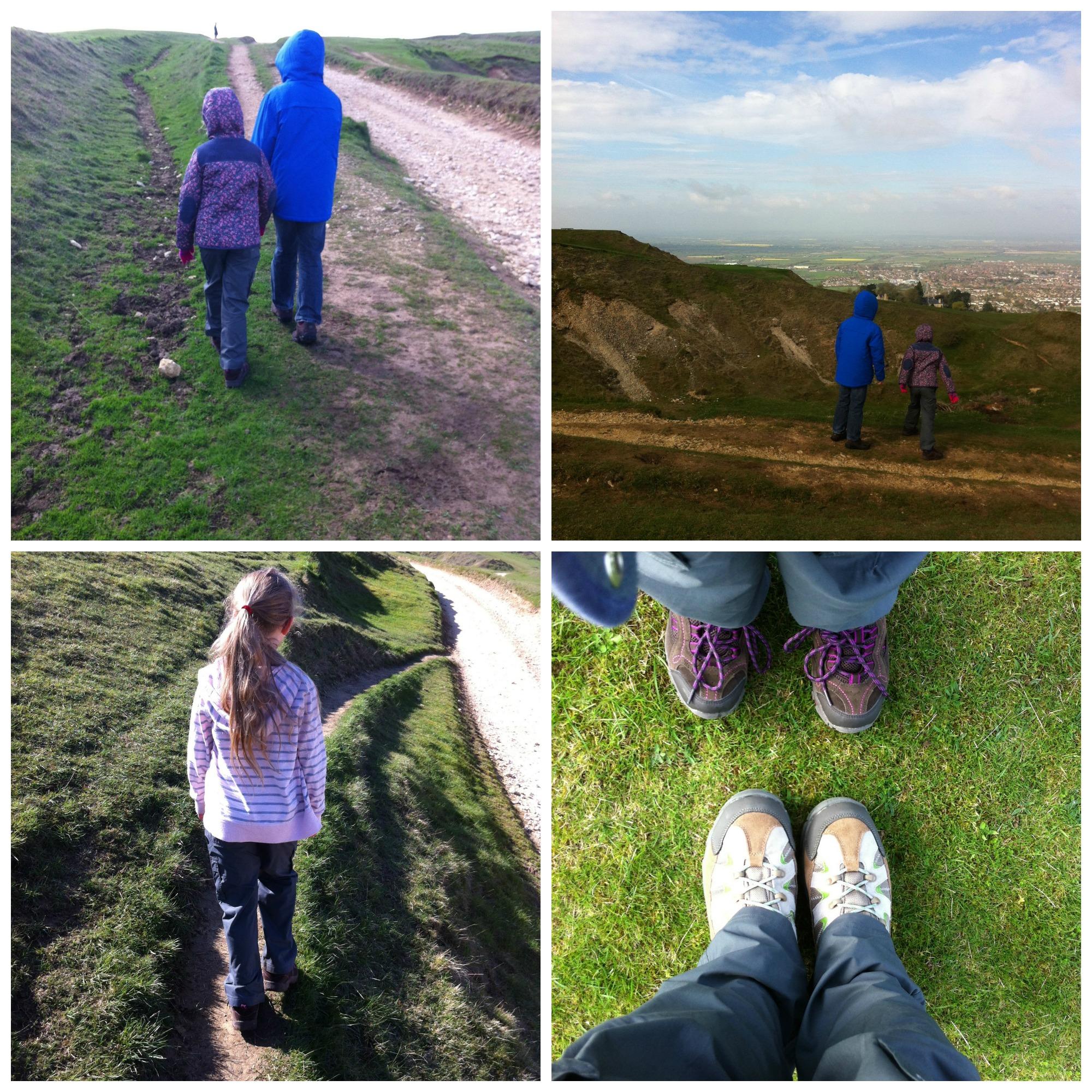 Kids, Walking, Hills, Training, Snowdon