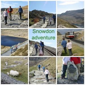 PicMonkey snowdonadventureCollage