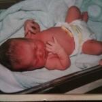 Birth of a beautiful girl