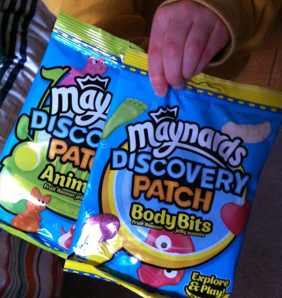 Maynards Discovery Patch, sweets, review, daughter, packet