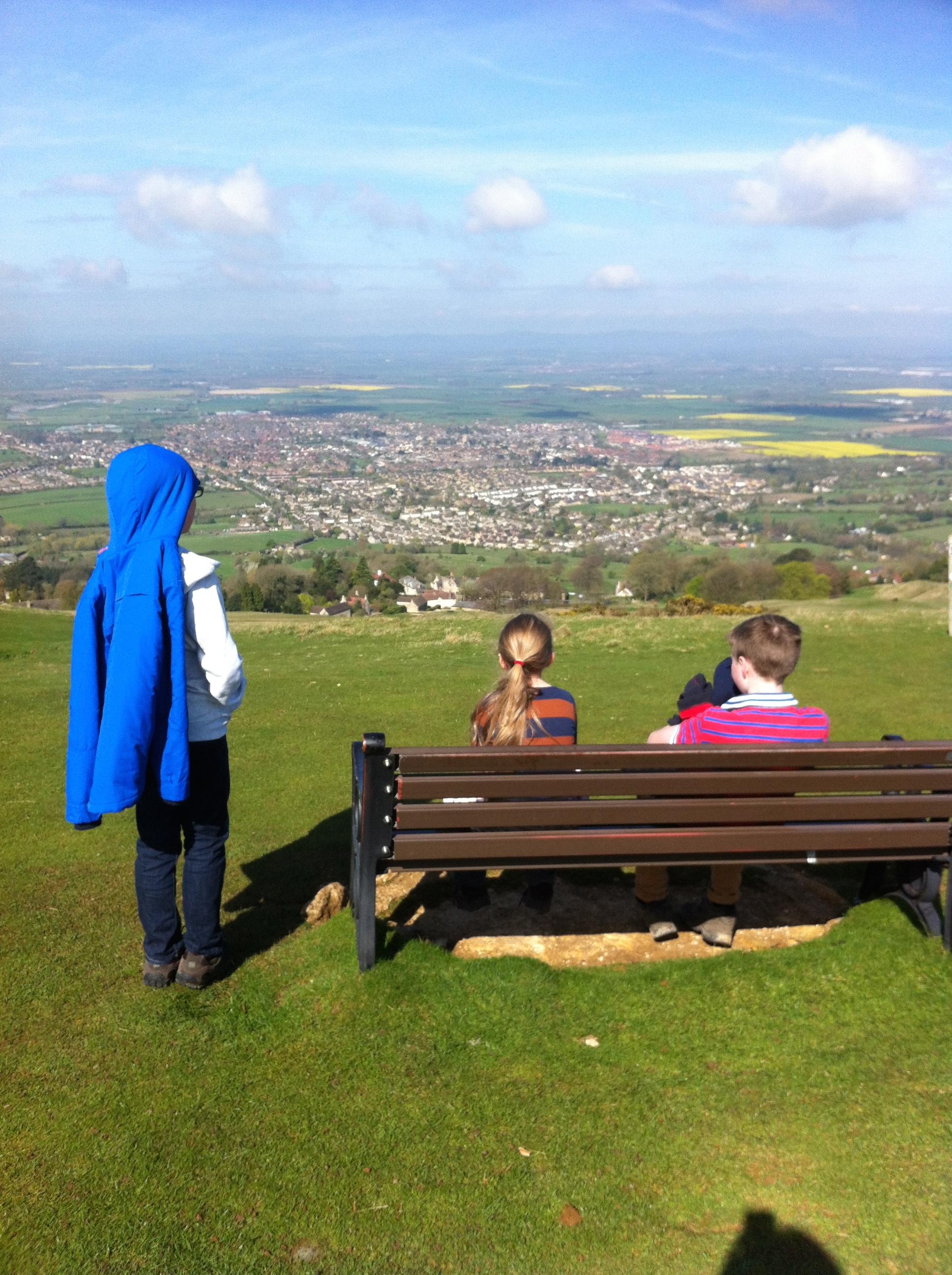 Hill, Kids, Walking, View, 365