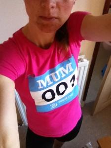 Selfie, running, 365