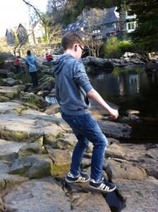 Snowdon, River, 365, Son, Betws-y-Coed