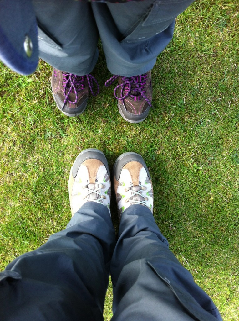 Emma's Army, charity, walking boots