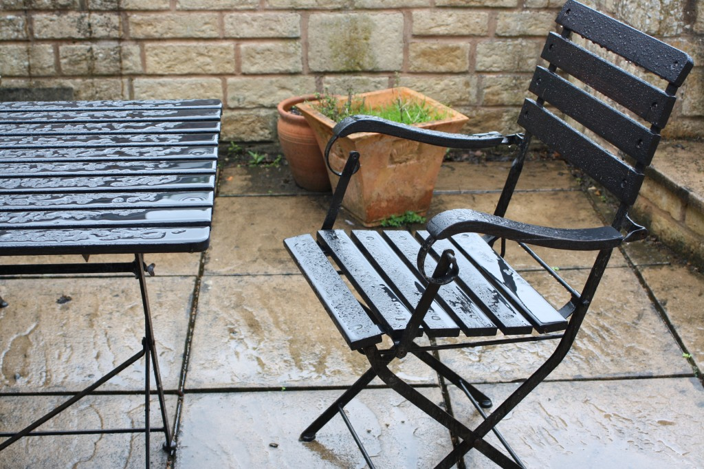 Table, weather, rain, 365