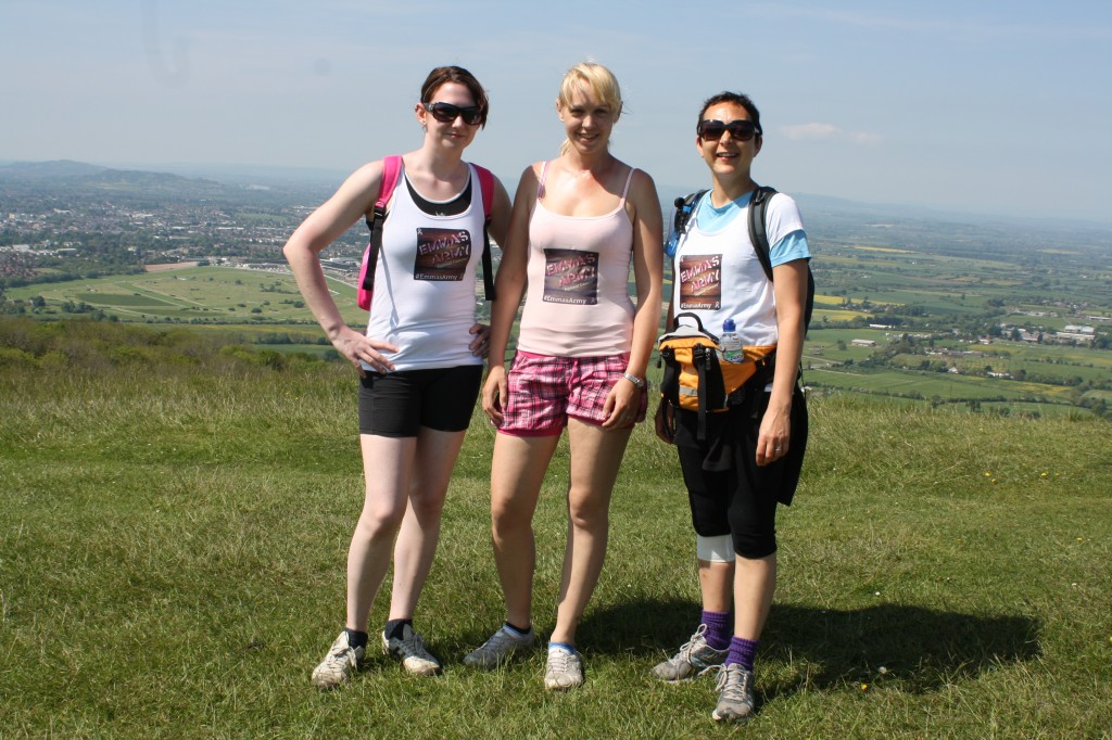 Emmas Army, charity, fundraising, Cancer Research UK
