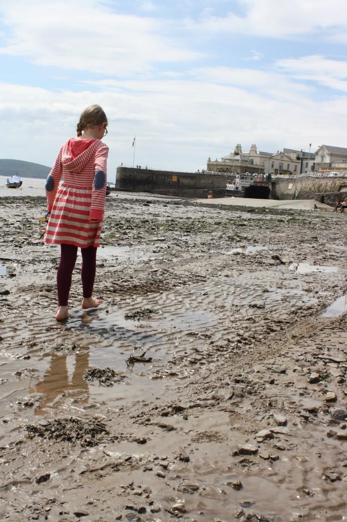 Daughter, Weston, beach, 365