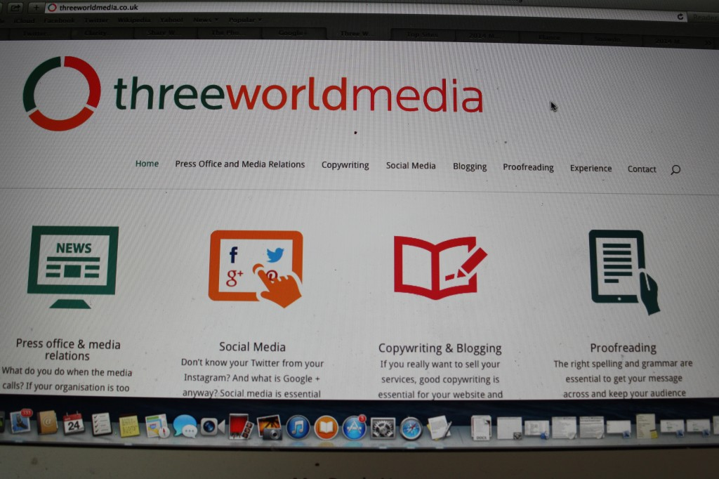 Business, website, Three world media