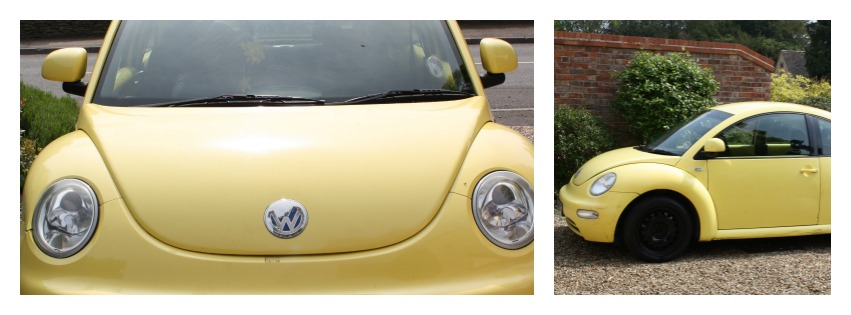 Car, Beetle, yellow, SORN