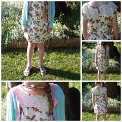 What she wore: Bird dress