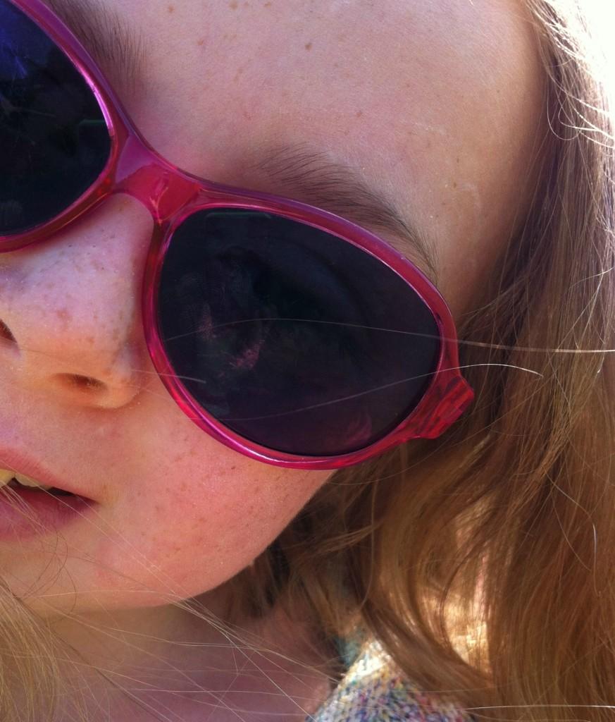 Daughter, selfie, sunglasses, summer, 365