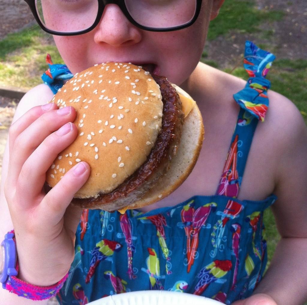 Daughter, burger, barbecue, dance, 365