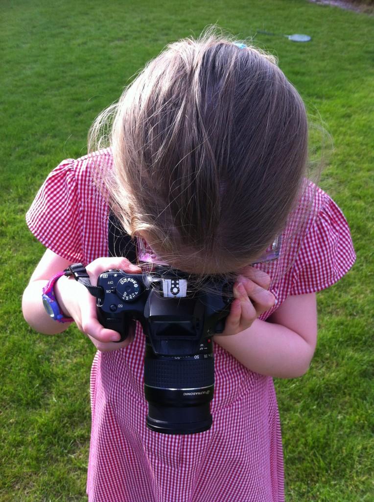 Daughter, camera, 365