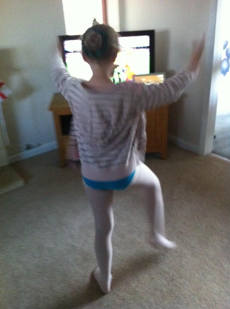 Daughter, dancing, rehearsing, 365