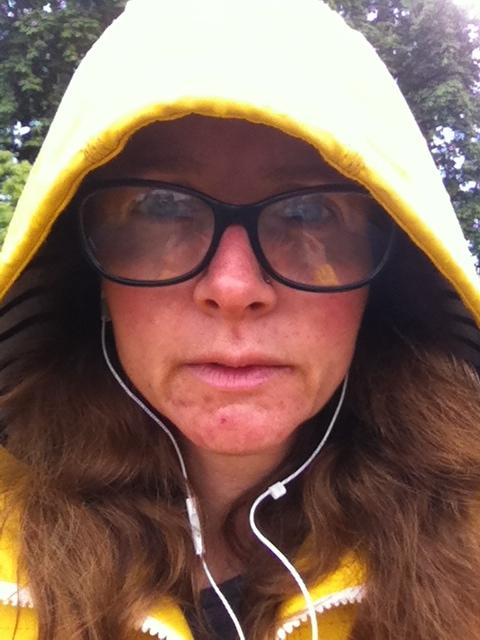 Selfie, rain, 365