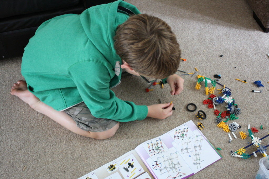 Son, KNex, holidays, 365