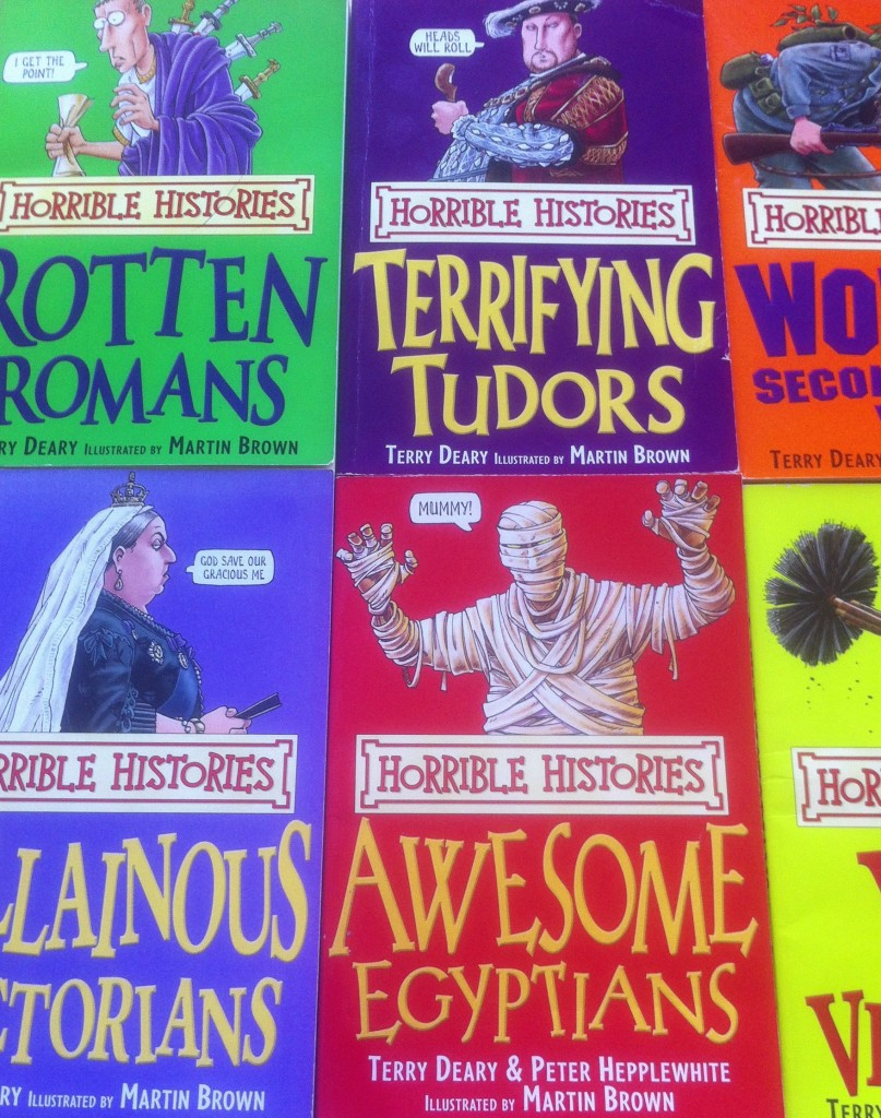 Horrible Histories, Books, Work, Freelance, 365