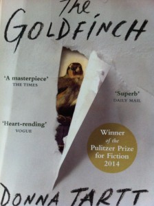 The Goldfinch, Donna Tartt, reading