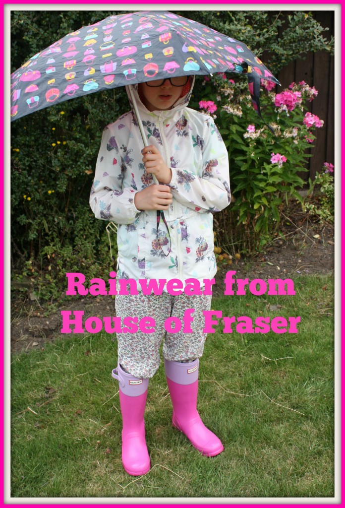House of Fraser, rainwear, daughter, fashion, girls