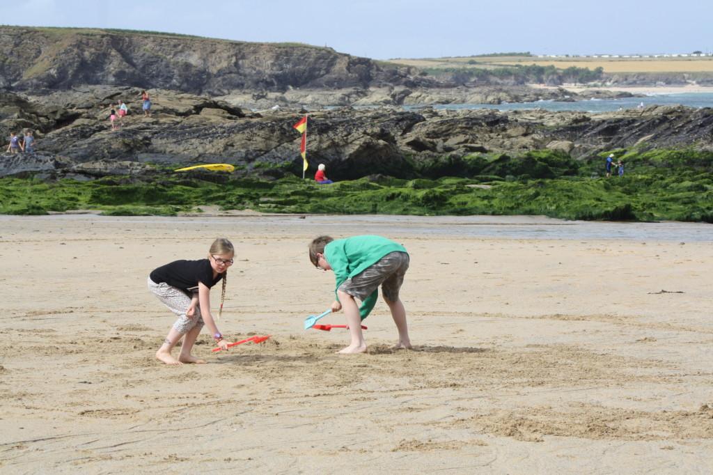 Trevone, beach, holidays, son, daughter, 365