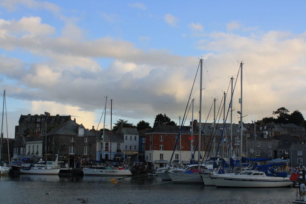 Padstow, high tide, landscape, 365
