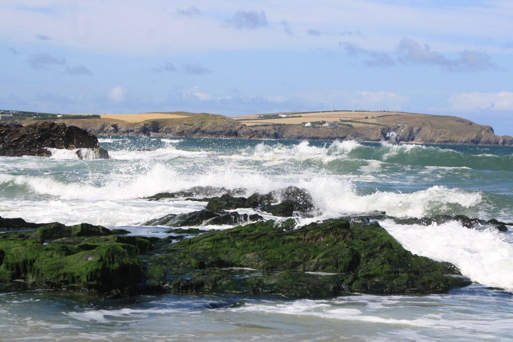 Trevone, beach, waves, 365