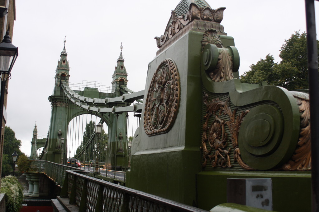 Silent Sunday, My Sunday Photo, Hammersmith bridge