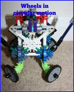 KNex, son, competition, creation