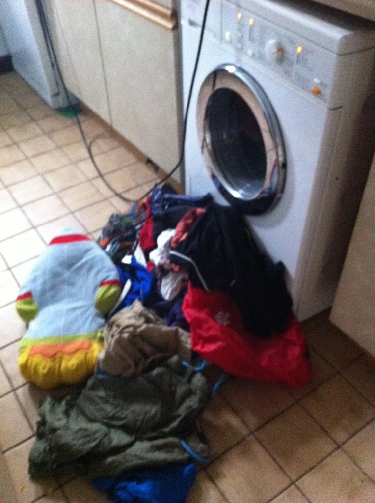 Washing machine, washing, son, Scouts, 365