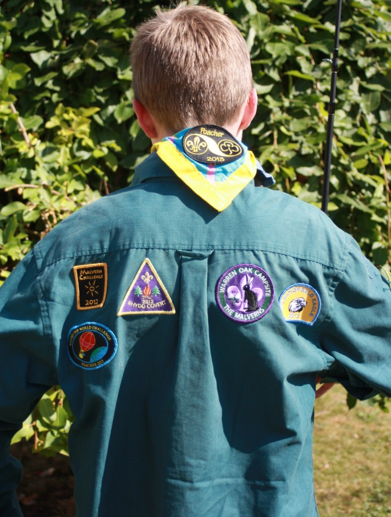 Son, Scouts, Scout camp