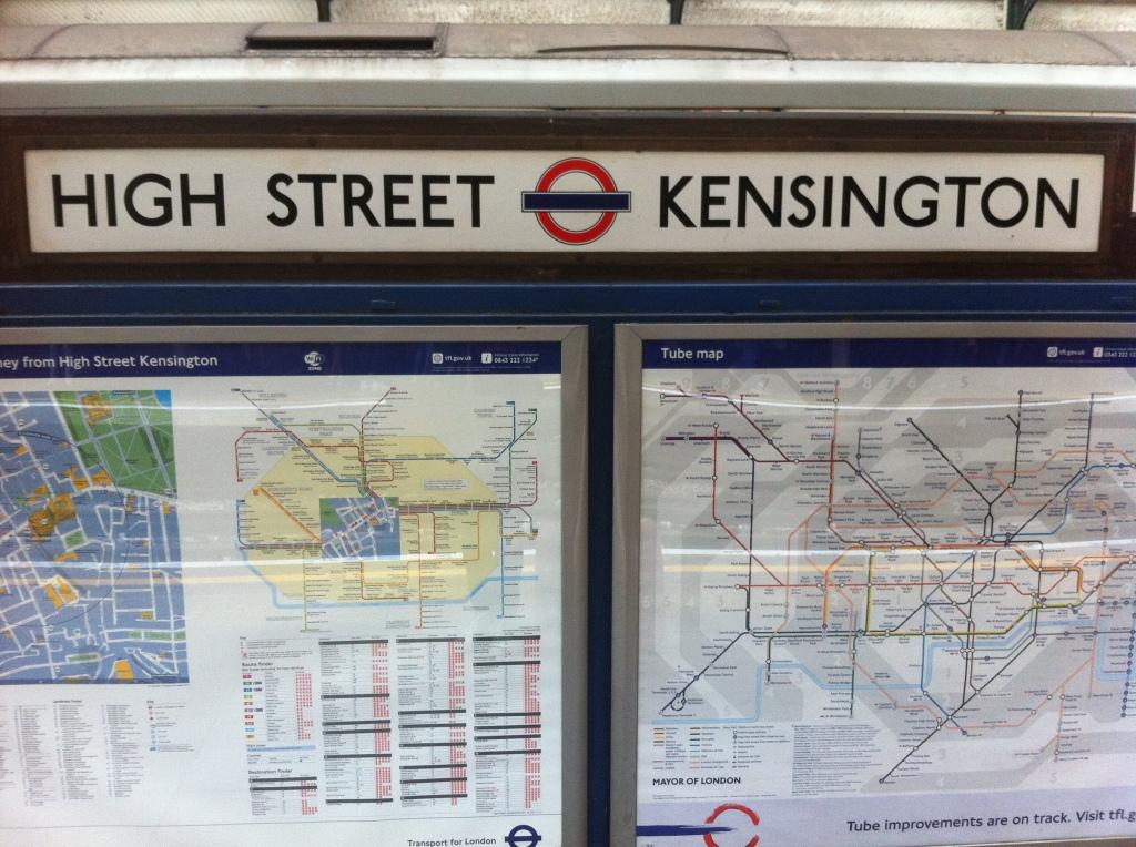 London, MAD Blog Awards, High St Kensington, tube, 365