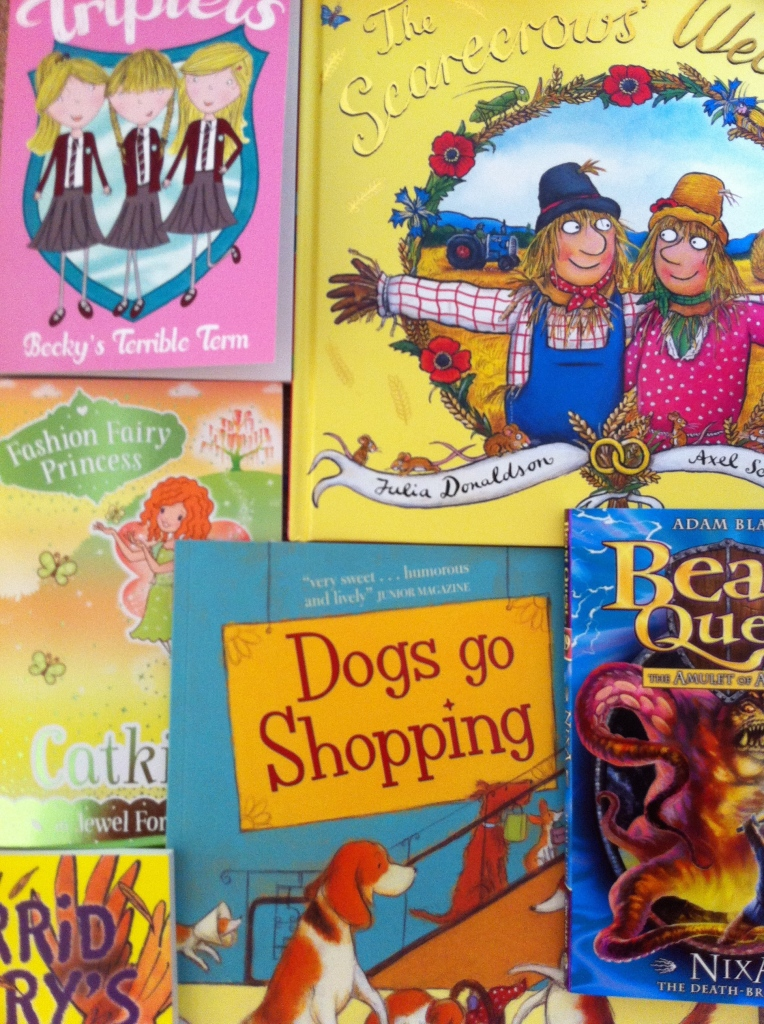 children's books, 365, work