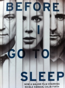 Before I go to sleep, S J Watson, book review