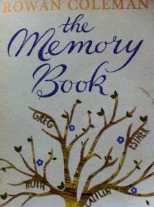 The Memory Book, Rowan Coleman, Book review