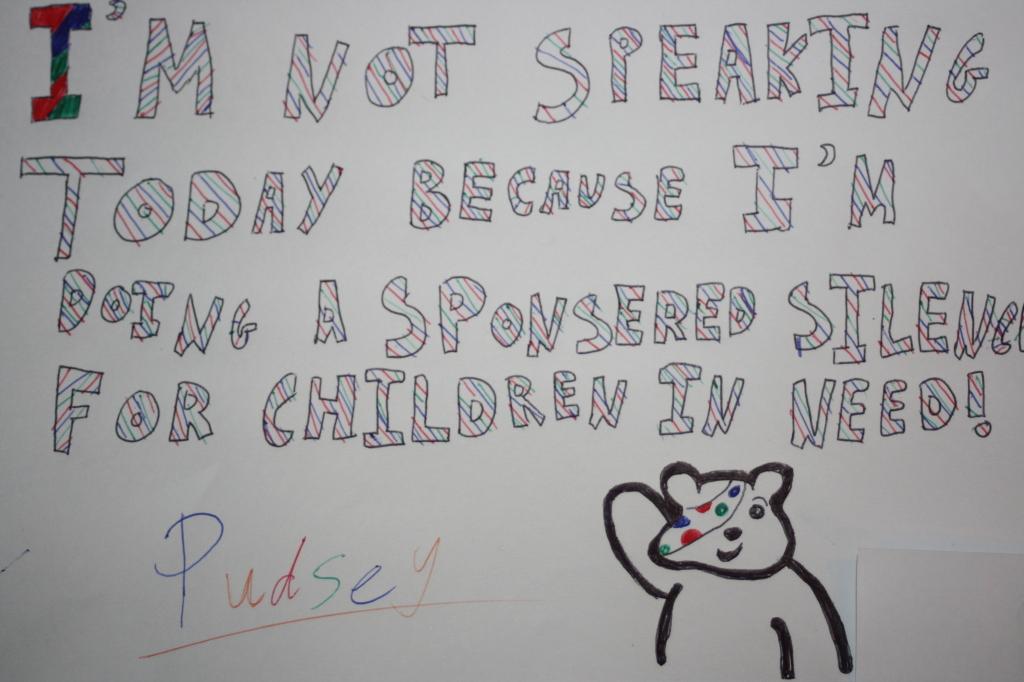 Daughter, Sponsored silence, Children in Need, 365