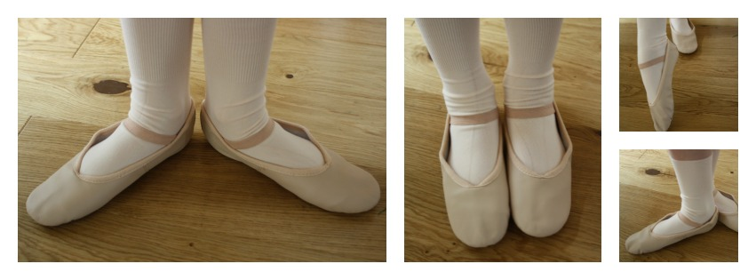 Ballet shoes, Dancewear Central review