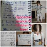 Sponsored silence for Children in Need