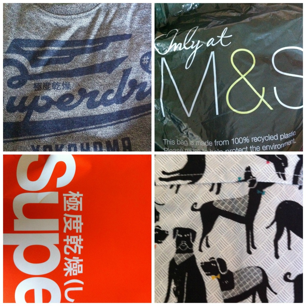PicMonkey christmasshoppingCollage, Superdry, M&S, Christmas shopping